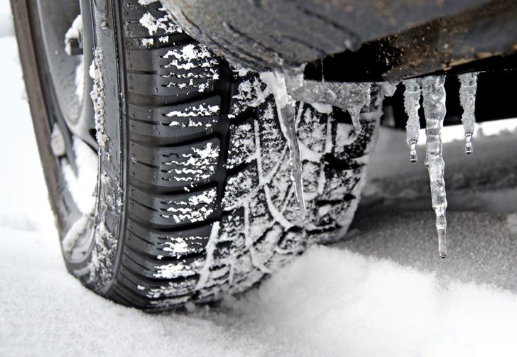 Benevento, scatta l'obbligo dei pneumatici per la neve